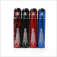 Wholesale E Cigarette Mod Full Mechanical - Rig V3 18650 Vape Mods Starter Kit Rig V3 Mechanical Mod Clone + Roughneck RDA Full kit With 4 colors Mod E cigarette Kit