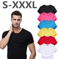 Wholesale Mandarin Neck Shirt Men - 2017 Summer New Fashion Brand Clothing Tshirt Men Solid Color Slim Fit Short Sleeve T Shirt Men Mandarin Collar Casual T-Shirts