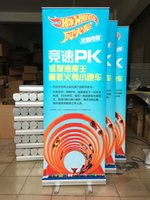 Wholesale Directly Factory Economical Easy Change Retractable Roll Up Display Banner Stand for Trade Show Advertising