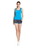 Wholesale Activewear Woman - Vihir Women's Activewear Athletic Yoga Gym Fitness Tank Top and Workout Running Shorts Set Sports Clothing