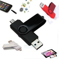 Wholesale-2017 NOUVEAU 8GB Micro USB / USB 2.0 Flash Pen Drive Memory Stick pour OTG Smart Phone Tablet PC