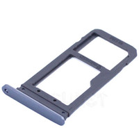Wholesale Sd Galaxy - 100% Original New Double Sim Micro SD Memory Card Tray Holder Slot For Samsung Galaxy S7 G930 s7 edge G935