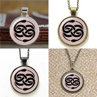 Wholesale Never Ending Story - 10pcs Auryn Inspired Never Ending Story Glass Photo Necklace keyring bookmark cufflink earring bracelet