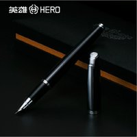 Vente en gros- Hot Sale Stylo plume Lamy 0.38mm Nib Hero Stylo plume 3025 Iraurita High End Luxury Home Sign Writing Metal Classical Design