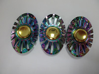 Wholesale Toy Metal Fish - Creative rainbow hot wheel Fidget Spinner rainbow Butterfly Fish Hand Spinners Thor Spinning Top Metal Finger Gyro Toy