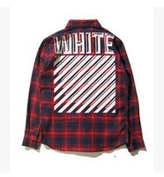 Wholesale White Ruffle Shirt Men - 2017 High Quality OFF WHITE Jean Jacket Men Women Jacket Shirt Summer Hip Hop So Cool Coat OFF WHITE Kanye Jacket hotsale couple mens shirts