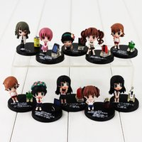 Wholesale accessories for action figures resale online - 3 cm set To Aru Kagaku no Railgun PVC Action Figure Collection Model Toys For Kids Christmas Gift retail