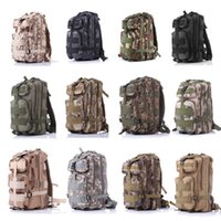 Wholesale 30L Outdoor Sport Military Tactical Backpack Molle Rucksacks Camping Trekking Bag backpacks colors new arrival