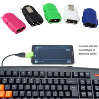 Wholesale Micro Usb Host - Micro USB 2.0 Host Male to USB Female OTG Adapter For Android Tablet PC Phone