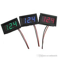 online shopping Led Dc Voltage Display - Digital LED Display Voltage Meter Wire DC voltmeter G00031 ONET