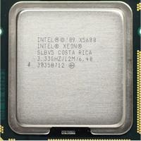 Wholesale Cpu Intel Xeon Server - X5680 Original Intel Xeon X5680 3.33GHz LGA1366 12MB L3 Cache Six Core server CPU processor