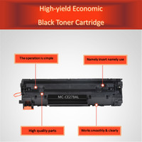 Wholesale Generic Printer Cartridges - CE278A, Generic High Yield Toner Cartridge for HP LaserJet m1536dnf p1566 1606dnf & Canon 328 mf4712 4752 4770 4890dw Printer Toner TOOGO