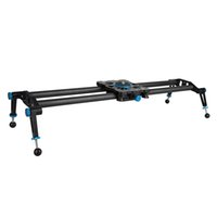 Le plus récent design 60cm Camera Carbon Fibre Dslr Camera Slider Rail Track Dolly Stabilisation vidéo, vente directe directe usine