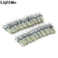 Wholesale G4 Base 3w - Wholesale- Lightme 20 Pcs 3W G4 Base LED Bulb Lamp High Power SMD3014 DC 12V White Warm White Light 360 Degrees Beam Angle Indoor LED Bulb