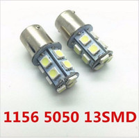 10X1156 BA15S P21W Led Bulb13SMD 5050 Side Tail Turn Signal Backup Inversor Light its Bulb A cor é branca