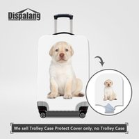 Wholesale Travel Suitcase Children - Cat Dog Printing Luggage Protector Cover For 18-30 Inch Travel On Road Case For Suitcase Animal Children Outdoor Waterproof Rain Dust Covers