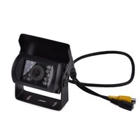 Wholesale Xy Black - XY-1201 Waterproof CMOS Wide Angle 170   120 ° Car Bus   Truck Rearview Camera w  18-LED Lamp with 15 m Nigt Vision Distance Rearview Camera