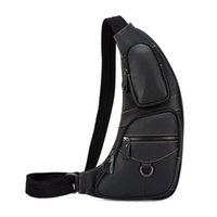 Bend Herren echtes Leder Travel Wandern Cross Body Messenger Sling Brusttasche