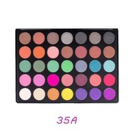 Wholesale Charm Color Cosmetics - New 35 Color Charming Matte Eyeshadow Palette Makeup Eyeshadow Palette Cosmetics Professional Perfect Waterproof Long Lasting