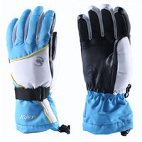 Winter Ski Glove Snowboard Deportes Warm Hiking Glove Thermal Outdoor Snow Skiing Respirable a prueba de viento Impermeable Mujeres