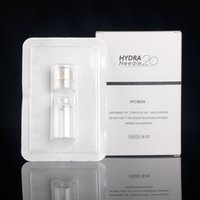 Wholesale mesotherapy needling - 5 pcs Hydra Needle 20 Aqua Micro Channel Mesotherapy Gold Needle Fine Touch System derma stamp