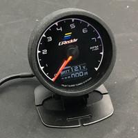 Wholesale Rpm Racing - 62mm 2.5 Inch 7 Color in 1 Racing GReddy Multi D A LCD Digital Display RPM Gauge Tachometer Sensor