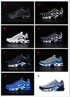 Wholesale Pu Material Shoes - Wholesale 12 Colors Free Shipping Mens Maxes TN Running Shoes Nanotechnology hot sale Durable Material Sports Sneakers KPU Shoes