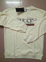 Wholesale Long Coats Sweater Women - Fashion GUC brand Men and women sweater hoodies Round neck Sweatshirts women T-shirt coat