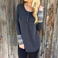 Wholesale Knitted Tunic Dress - Wholesale- 2016 Women Vintage Bohemia National Style Patchwork Jumper Mini Dress Long Sleeve Winter Warm Knit Sweater pullovers Tunic Tops