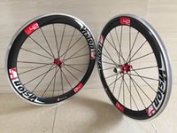 Wholesale Alloy Clincher Rims - 700C carbon wheelset 60mm alloy carbon wheels for road bike wheel clincher cycling wheelset aluminuium braking surface rims