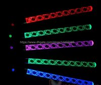 600pcs 26cm multi colori led Glow stick led wedding party flash light Luci giochi di Natale Sticks bacchetta magica
