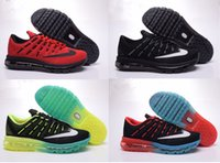 Wholesale Discount Leather Shoes For Women - Discount Whole Air Cushion 2016 Running Low Cut Shoes For Men&Women Tennis Casual Lightweight Breathable Outdoor Sport Sneakers Mesh Vamp