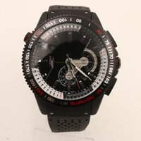 Wholesale Calibre 36 Automatic - Luxury Men Automatic Watch Grand Calibre RS 36 Tag Mens Watches Mechanical Glass Transparent Back Rubber Strap