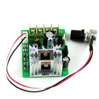 Wholesale 24v Speed Control Dc Motor - Wholesale-PWM DC 6V 12 24V 10A Pulse Width Modulator Motor Speed Control Switch Hot Vl