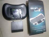 телешоу google оптовых-Рии мини i8 летать воздуха мыши 2.4 ГГц беспроводная QWERTY клавиатура с тачпадом для ПК PadNotebook приложения для Android тв box для Xbox360 для PS3 HTPC с функцией IPTV