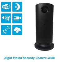 Wholesale Hight Sound - Hight Quality Moderate Price Night Vision 720P Camera +8g SD Card,JH08(Black) with Sound Detection,Two-way Audio,Snapshot&video Recording.