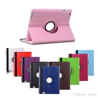 360 Rotating Folio Stand Smart capa de capa de couro PU para Apple Pad 9.7 polegadas iPad 2 3 4 Samsung galaxy Tab T280