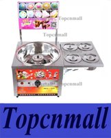 Wholesale cotton candy machines for sale - Group buy Commercial Flower Shape Cotton Candy Machine Gas Type Fancy Candy Floss Machine Battery Drive Cotton Candy Maker Popular Snack Food Maker