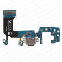 Wholesale Oem Connector - OEM 100% New Charging Port Charger Dock Connector Flex Cable Replacement for Samsung Galaxy S8 Plus G950F G950U G955F G955U