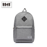 Wholesale trendy travel backpacks - Wholesale- 8848 Gray Backpack 16L For Travel Bag Oxford Waterproof Women Backpack Travel Backpack Bag Tennager Trendy Type Free Shipping