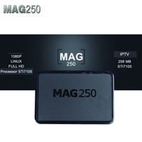 Wholesale Tv Channel Wholesale - Mag 250 254 IPTV Android Smart TV Box Video Channels Set Top Box STB Google Internet Quad Core Media Player VS Mag254