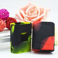Wholesale Silicone W - SMOK AL85 Silicone Case Bag Colorful Rubber Sleeve Smoktech AL85W Protective Cover Skin for Alien Baby Mini TC AL 85 W Box Mod