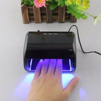 Großhandel - UK AU EU US PLUG GY - LED - 024 Professional 9W Maniküre Werkzeug 3 High Power LED Nagel Gel Lampe für Nails Gel Polnisch Trockner