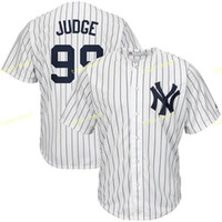 yanquis azules al por mayor-New York Yankees 99 Aaron Judge Jerseys de béisbol MLB 2 Derek Jeter 24 Gary Sánchez 23 Don Mattingly Ruth Retiro Patch Blanco Azul Gris