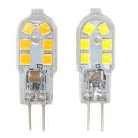 Wholesale Standard Bulb Base - Wholesale- 10pcs Energy-saving Standard G4 Base 3W 2835SMD LED White Warm White Light Bulb Transparent + Silvery LED Light Bulb AC 220V