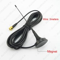 Wholesale Build Tv Antenna - FEELDO Car SMA Connector Active Antenna Aerial With Built-in Amplifier For Digital TV #925