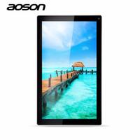 tablet aoson al por mayor-Al por mayor-Aoson M1016C 10.1 pulgadas Tablet PC 2016 Tablet PC barato Quad Core Wifi 1 GB RAM + 8GB ROM Dual Camera Android 4.4 Tablette