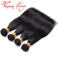 Brazilian Virgin Hair Bulk Straight Meilleur qualité Malais Indien Chevauchement humain péruvien Cheveux Kinky Straight Mink Brazilian Hair Weave