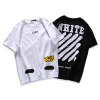 Wholesale Women Oversize T Shirt - Off White T Shirt Singapore Limited 2017 New Fashion Men Women Hip Hop Oversize Tshirt Off White t-shirt Short Sleeve