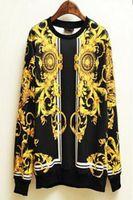серебряное платье один ремешок оптовых-Бесплатная Доставка !!! Горячие персонализированные мода красивый мужская с длинным рукавом толстовка сценические костюмы / S-XL